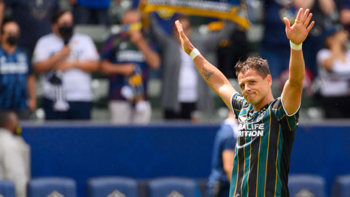 Los Angeles Galaxy player Chicharito stands as the frontrunner for the Golden Boot with seven goals scored thus far