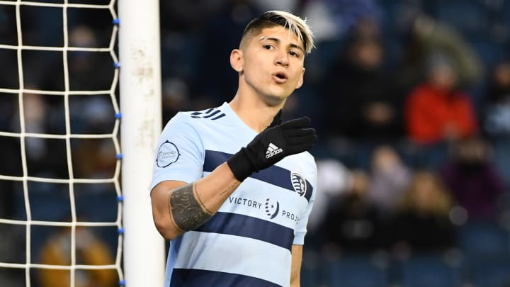 Pulido in action for Sporting Kansas City