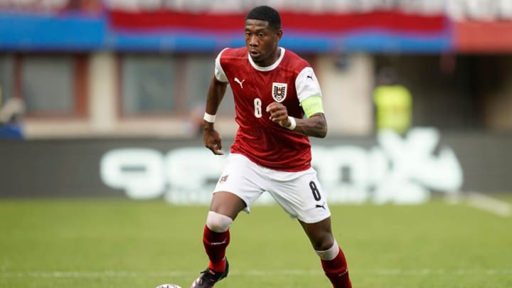 David Alaba Eurocopa Seleção Austríaca
