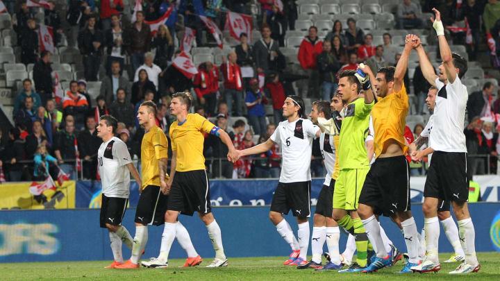 Austria's national football team players