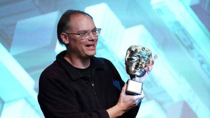 Tim Sweeney accepts a BAFTA Special Award on behalf of Epic Games.