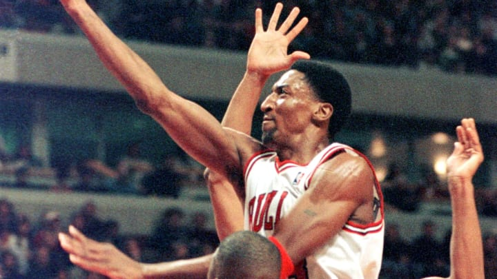 Former Chicago Bulls star Scottie Pippen
