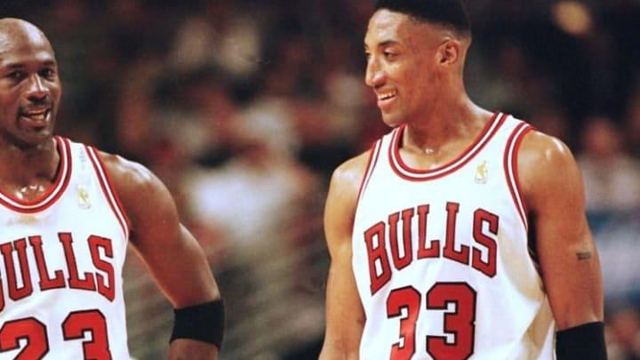 Chicago Bulls star Scottie Pippen