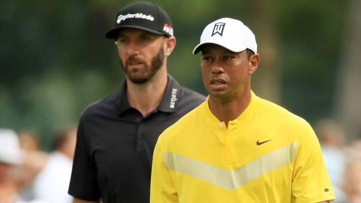 Tiger Woods, Dustin Johnson