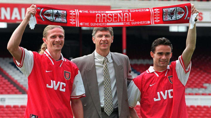 Arsenal won the Premier League & FA Cup in 1997/98