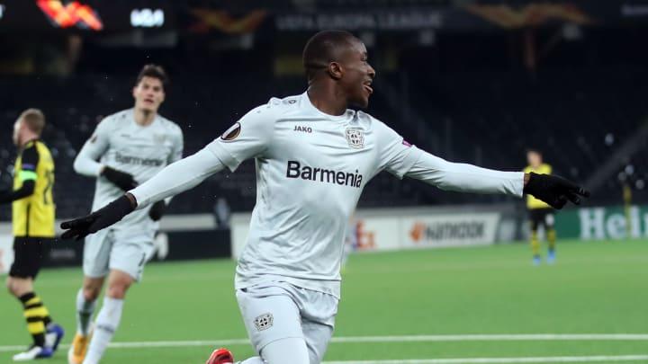 Moussa Diaby beeindruckt bei der Werkself