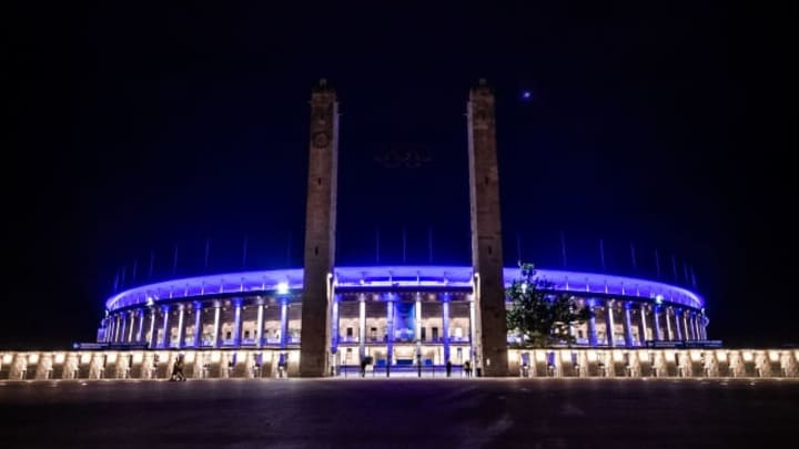 Berlin's Olympiastadion is a seriously unique spectacle