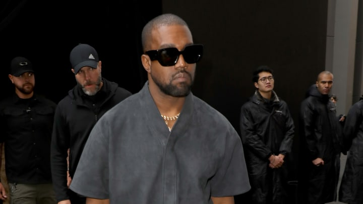 A new report claims Kanye West visited a Wyoming hospital for anxiety issues.
