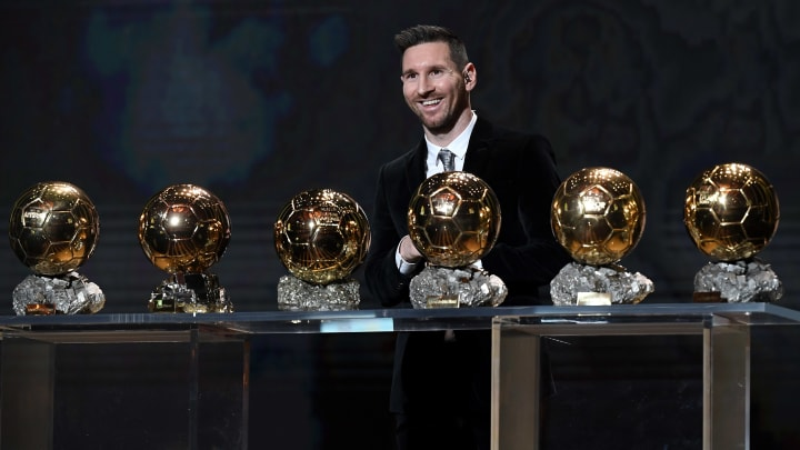 Lionel Messi is looking to win his 7th Ballon d'Or