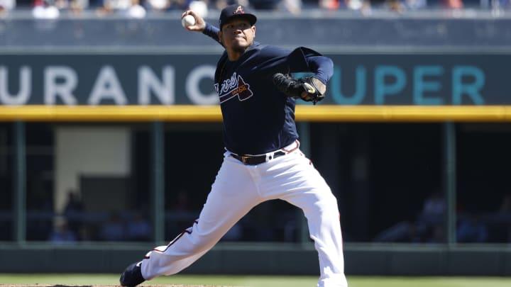 Atlanta Braves right-hander Felix Hernandez