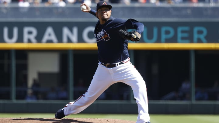 Atlanta Braves RHP Felix Hernandez