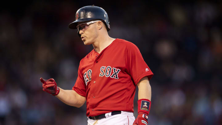Former Boston Red Sox infielder Brock Holt's jersey number has already been reassigned
