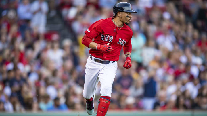 Red Sox OF Mookie Betts traded to Dodgers