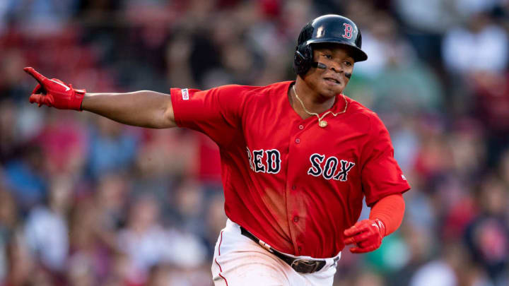 With Mookie Betts gone, the spotlight is now on Rafael Devers.