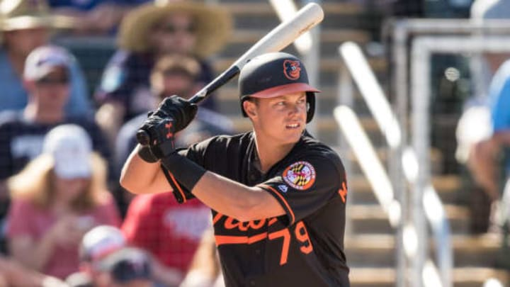 Baltimore Orioles prospect Ryan Mountcastle