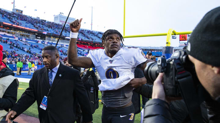 Lamar Jackson Regresses to the Mike Vick Mean in the Playoffs