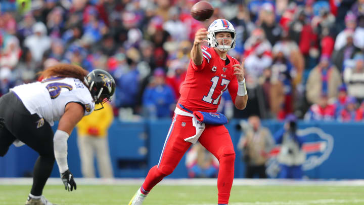 Baltimore Ravens vs Buffalo Bills odds, line, over/under and predictions.