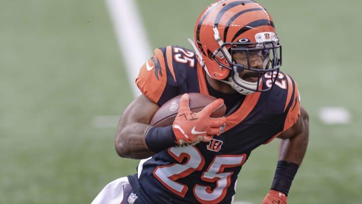 Running backs the Cincinnati Bengals can draft to replace Giovani Bernard following his release.
