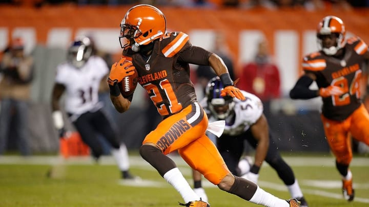 Justin Gilbert had a forgettable tenure with the Cleveland Browns.