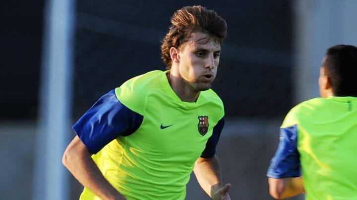 Barcelona FC  defender Henrique Adriano
