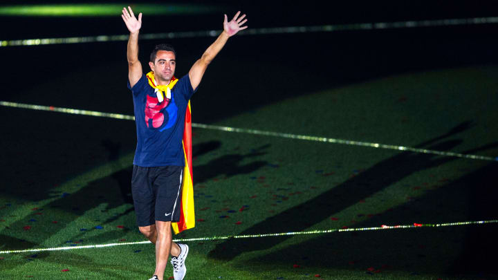 Xavi is part of Victor Font's Barcelona plans