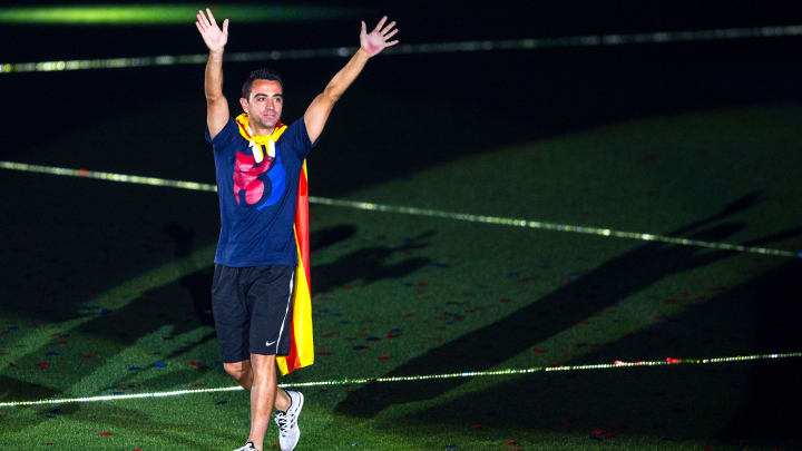 Font says he speaks to Xavi 'more than his wife'