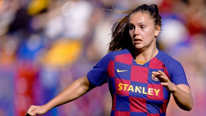 Lieke Martens helped Barcelona claim their first Spanish top flight title in five years this season