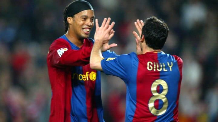 Ludovic Giuly et Ronaldinho ont remporté les plus grands trophées au Barça