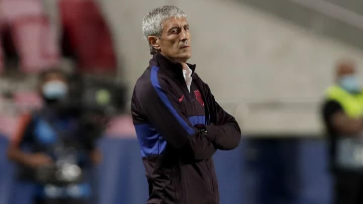 BREAKING: Barcelona finally sack Quique Setién, give update on replacement