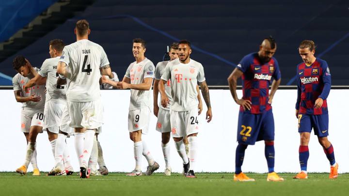 Equipes jogam pela fase de grupos da Champions   Barcelona v Bayern Munich - UEFA Champions League Quarter Final