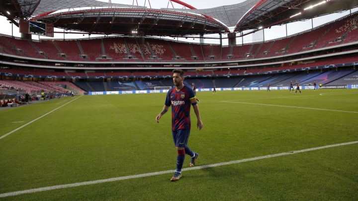 The Barcelona board are debating whether to sell Lionel Messi