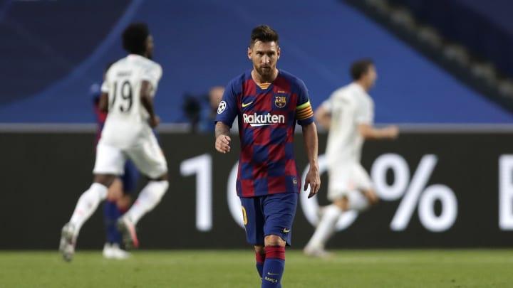Lionel Messi im CL-Achtelfinale
