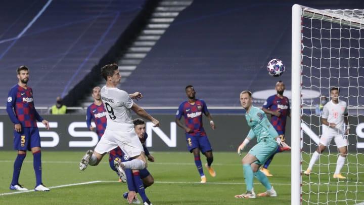 Der FC Bayern im Head-to-head-Duell mit den Katalanen