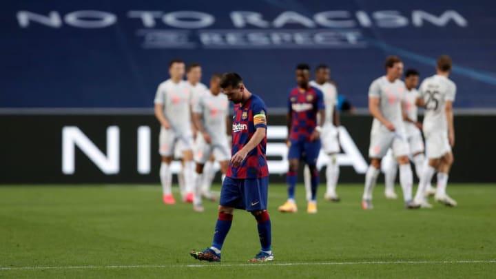 Barcelona suffered an 8-2 demolition at the hands of Bayern Munich