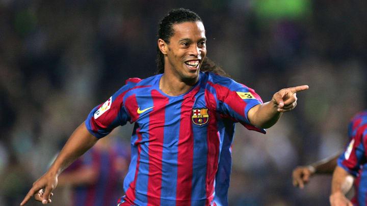 Ronaldinho é um dos maiores jogadores de todos os tempos