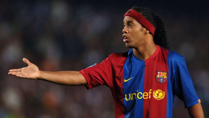 Ronaldinho Barcelona Atlético-MG Libertadores Champions League