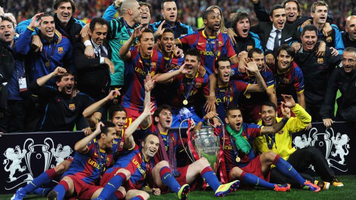 Lionel Messi e Daniel Alves estão entre os maiores campeões da história