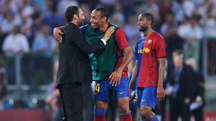Thierry Henry, Josep Guardiola
