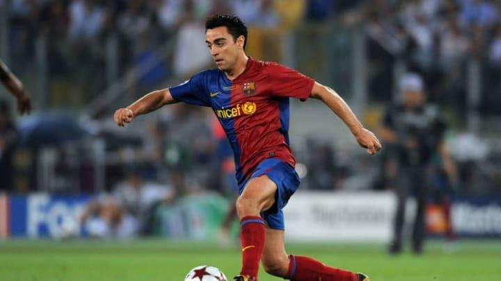 Xavi Barcelona Real Madrid El Classico Messi Sergio Ramos