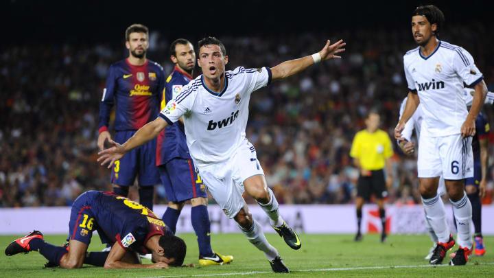 Ronaldo freute sich auch 2012 im Camp Nou
