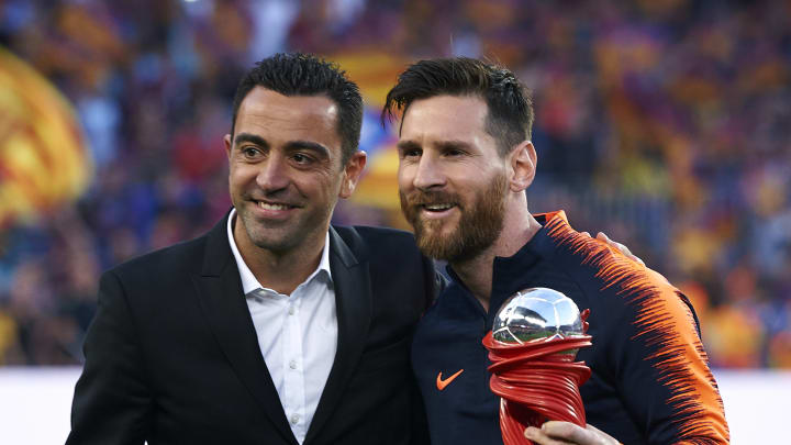 Messi Is A Competitive Beast And Will Play 2022 World Cup Xavi Heaps Praise On Former Team Mate