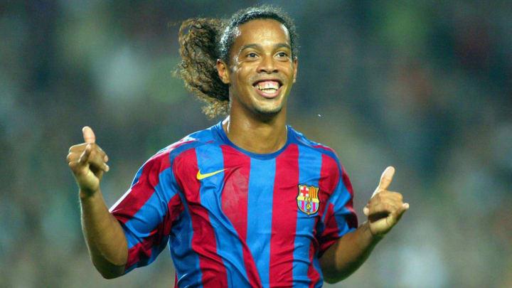 Ronaldinho PSG Barcelona