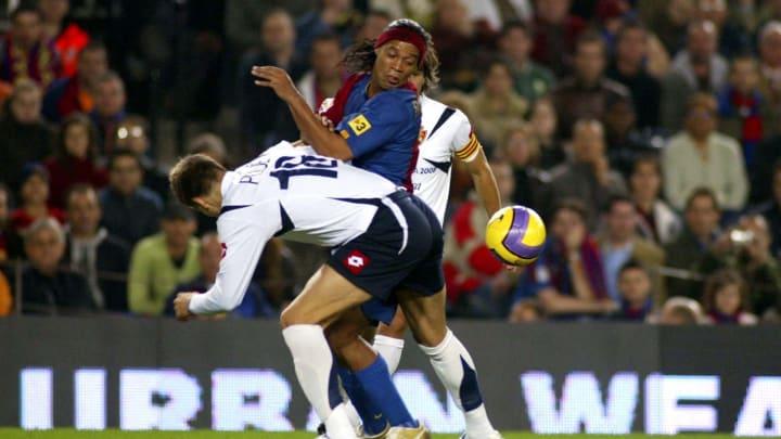 Pique jugó junto a Pablo Aimar en el Zaragoza