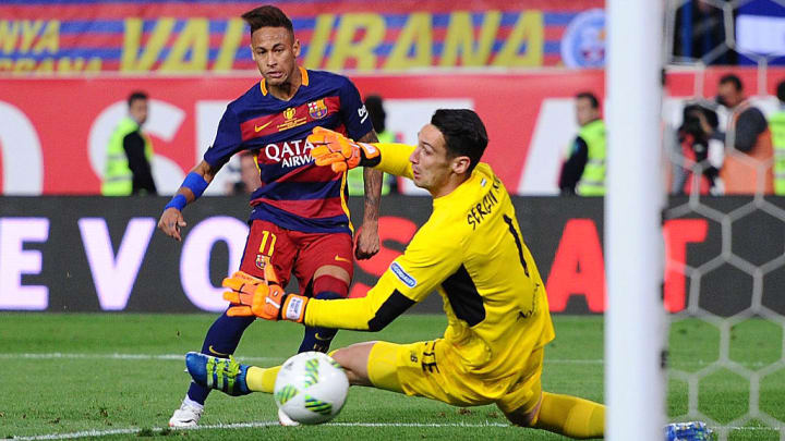 Neymar scored in the 2016 Copa Del Rey final