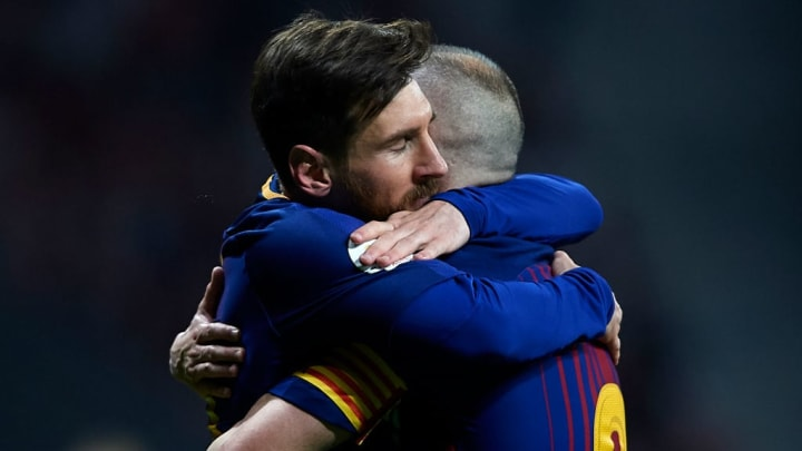 Leo Messi, Andres Iniesta