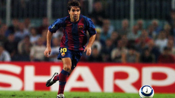 Deco helped the Catalans win two La Liga titles and a Champions League