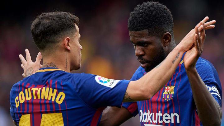 Umititi et Coutinho poussés vers la sortie par le Barça.
