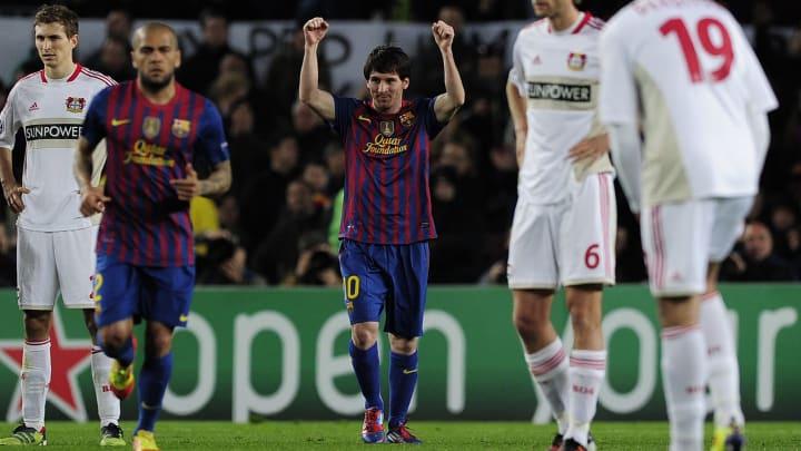 Messi was imperious against Leverkusen in 2012