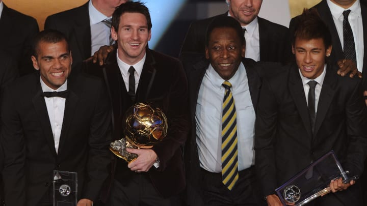 Brazil Legend Claims Only a Messi-Ronaldo Hybrid Could Match Pele