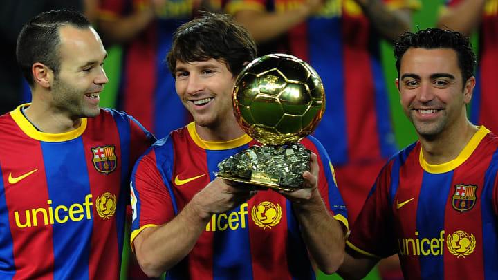 Barcelona Messi Iniesta Bola de Ouro Copa do Mundo